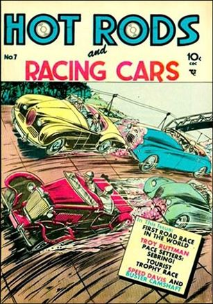 Hot Rods and Racing Cars 7-A