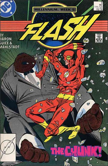 Flash (1987) 9-A by DC