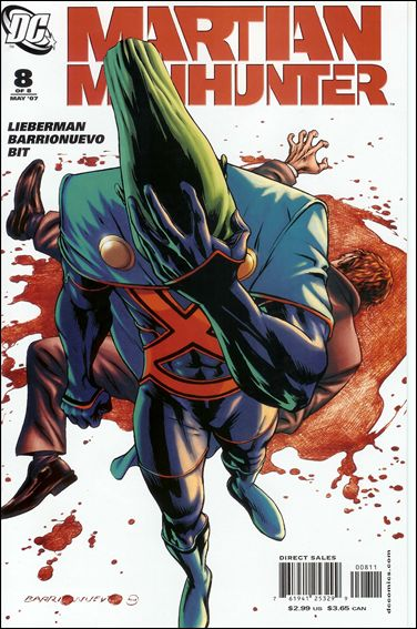 Martian Manhunter (2006) 8-A by DC