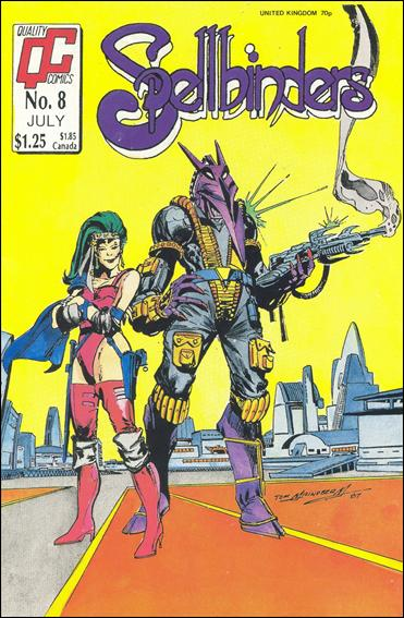 Spellbinders (1987) (UK) 8-A by Quality Comics