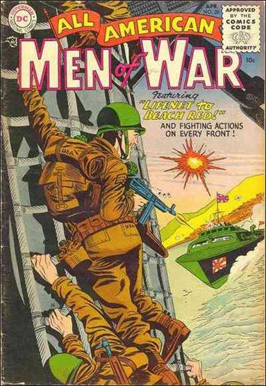 All-American Men of War 20-A by DC