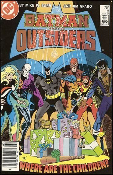 Batman and the Outsiders (1983) 8-A by DC