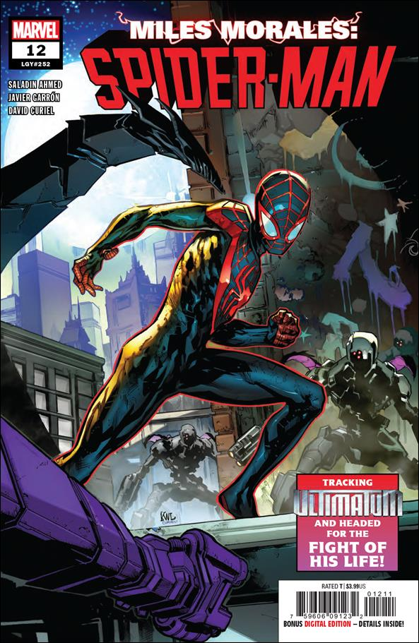 Miles Morales: Spider-Man 12-A by Marvel