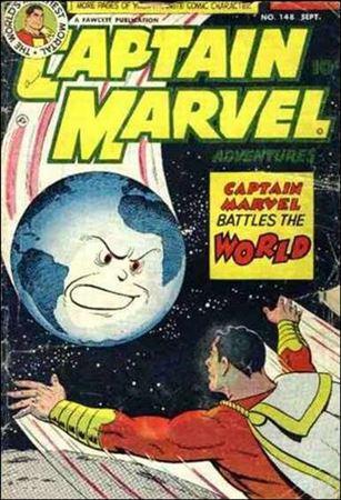 Captain Marvel Adventures 148-A