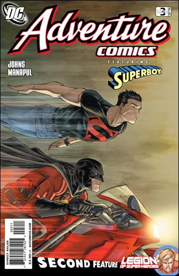 Adventure Comics (2009) 3-A by DC