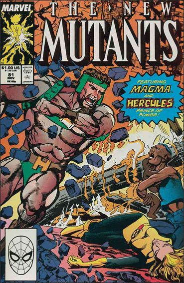 New Mutants (1983) 81-A by Marvel