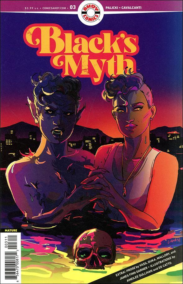Black's Myth 3-A by Ahoy Comics
