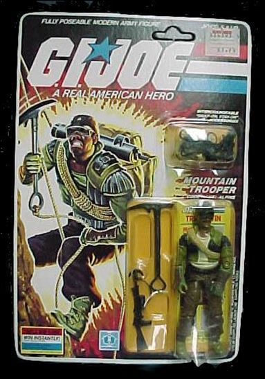 "G.I. Joe: A Real American Hero 3 3/4"" Basic Action Figures Alpine (Mountain Trooper)  by Hasbro"