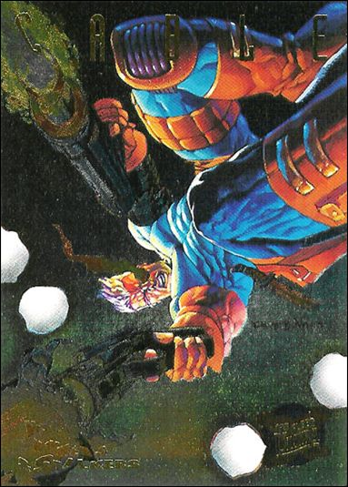 1995 Fleer Ultra X-Men (Hunters & Stalkers Subset) 2-A by Fleer
