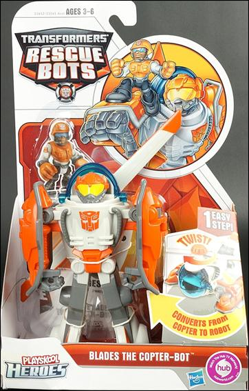 Transformers Rescue Bots Blades The Copter Bot Jan 2012
