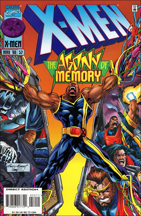 X-Men (1991) 52-A by Marvel