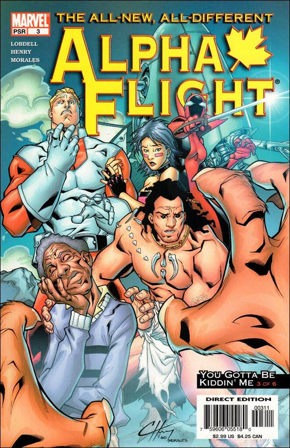 Alpha Flight (2004) 3-A by Marvel