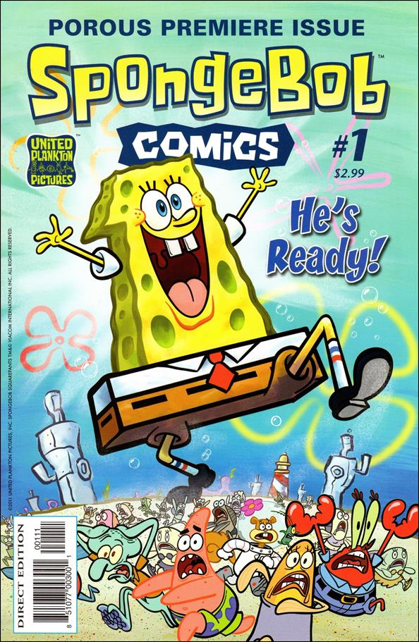 SpongeBob Comics 1-A by United Plankton Pictures