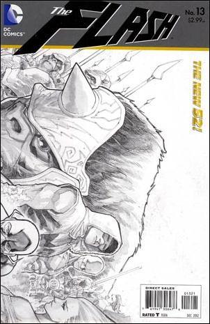 Flash (2011) 13-B by DC
