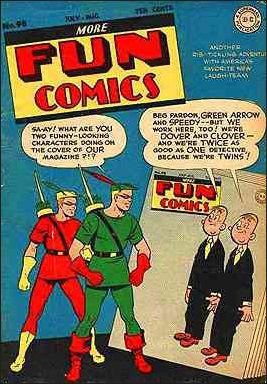 More Fun Comics 98-A by DC