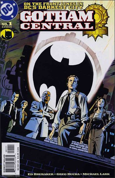 Gotham Central 1-A by DC