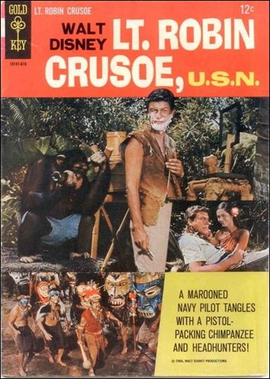 Lt. Robin Crusoe, U.S.N. nn-A by Gold Key