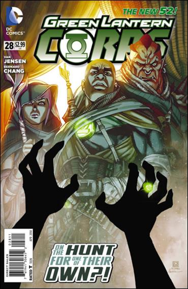 Green Lantern Corps (2011) 28-A by DC
