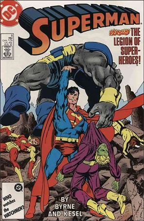 Superman (1987) 8-A