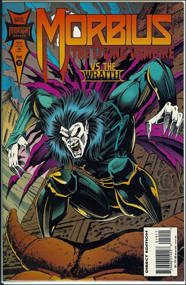 Morbius: The Living Vampire (1992) 19-A by Marvel