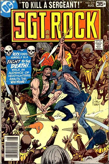 Sgt. Rock (1977) 319-A by DC