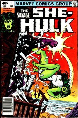 Savage She Hulk 3 A Apr 1980 Comic Book By Marvel