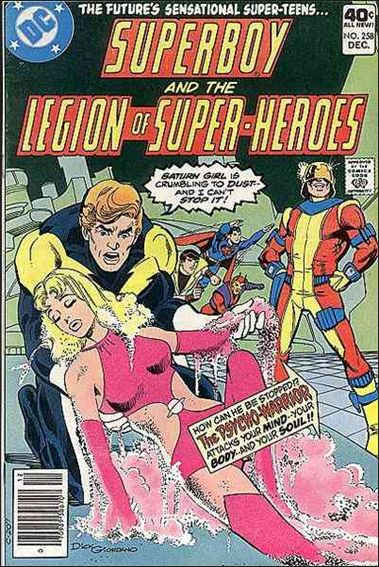 Superboy and the Legion of Super-Heroes 258-A by DC