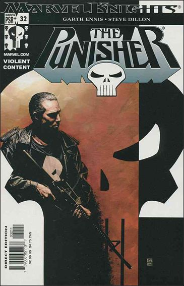 Punisher (2001) 32-A by Marvel