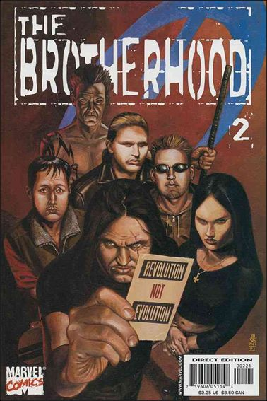 Brotherhood 2-A by Marvel
