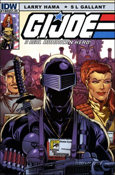G.I. Joe: A Real American Hero 180-A by IDW