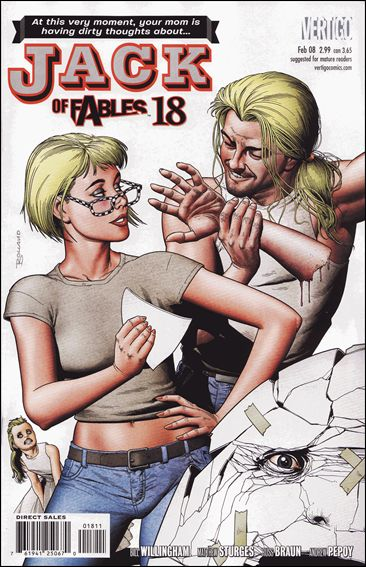 Jack of Fables 18-A by Vertigo
