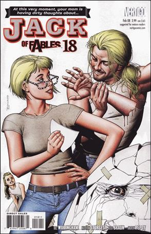 Jack of Fables 18-A
