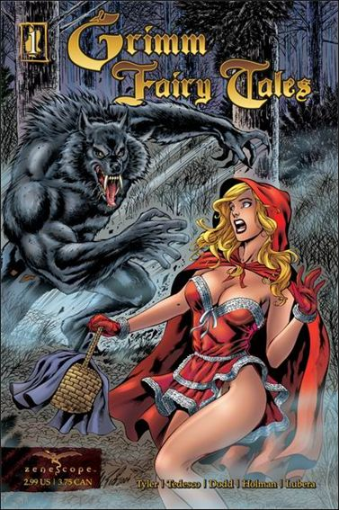 Grimm Fairy Tales 1-A by Zenescope Entertainment