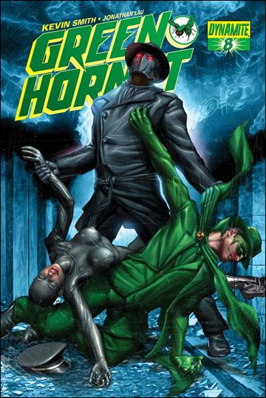 Green Hornet (2010) 8-B by Dynamite Entertainment