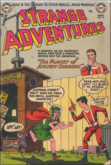 Strange Adventures (1950) 42-A by DC