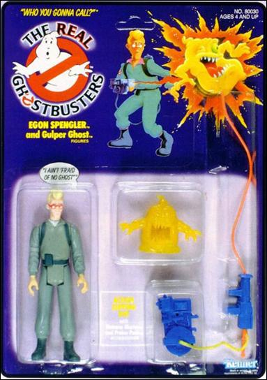 Real Ghostbusters Egon Spengler and Gulper Ghost by Kenner
