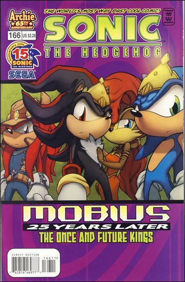 Sonic the Hedgehog (1993) 166-A by Archie