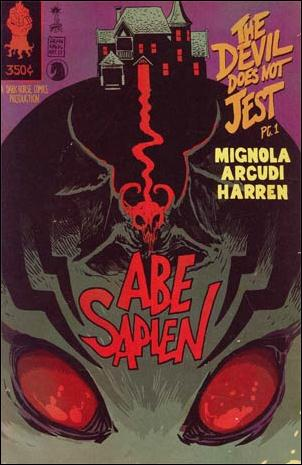 Abe Sapien: The Devil Does Not Jest 1-B by Dark Horse