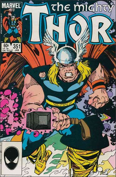 Thor (1966) 351-A by Marvel
