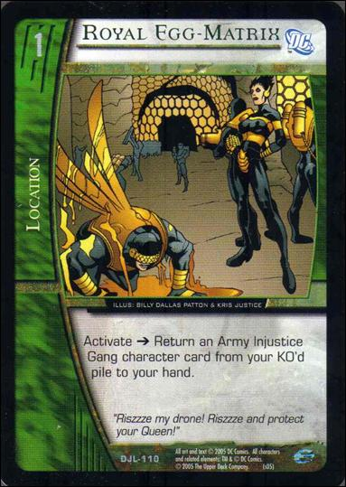 Justice League of America: VS System (Base Set)  DJL-110-A by Upper Deck
