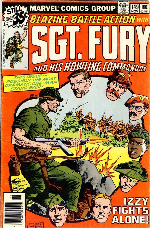 Sgt. Fury and His Howling Commandos 149-A by Marvel