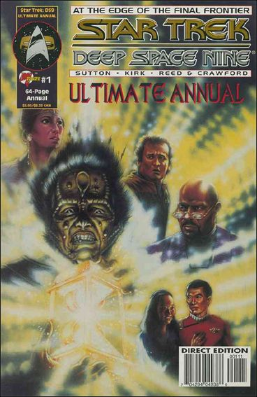 Star Trek: Deep Space Nine, Ultimate Annual 1-A by Malibu