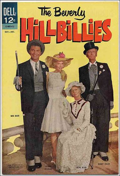 Beverly Hillbillies 7-A by Dell