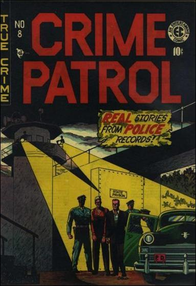 Crime Patrol (1948) 8-A by E.C.