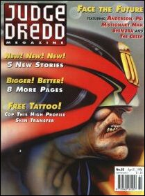 Judge Dredd Megazine (1992) 50-A by Fleetway