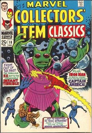 Marvel Collectors' Item Classics 18-A
