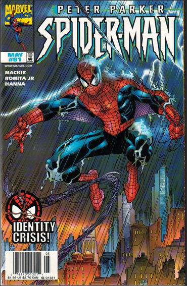 Spider-Man 91-A by Marvel