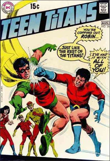 Teen Titans (1966) 28-A by DC