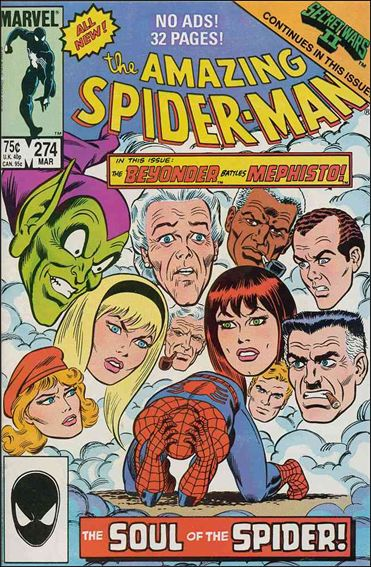 Amazing Spider-Man (1963) 274-A by Marvel