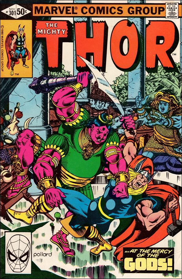 Thor (1966) 301-A by Marvel